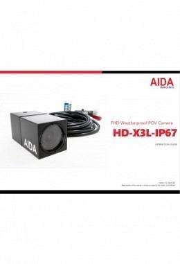 Manual AIDA HD-X3L-IP67
